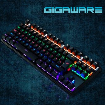 MorganStar Gigaware K28 Blue Switch Mechanical Keyboard (Clicky & Tactile)