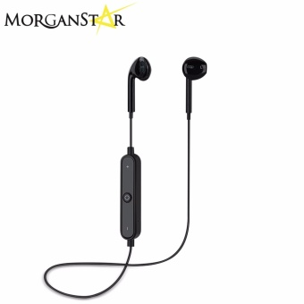 Morganstar M5 Freestyle Mini Stereo Wireless Sports Bluetooth Headset (Black)