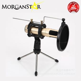 Morganstar Q30 Condenser Sound Recording Microphone (Black) - 4