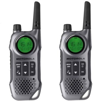 Motorola TLKR T8 Walkie Talkie Two Way Radio With Vibrate Alert