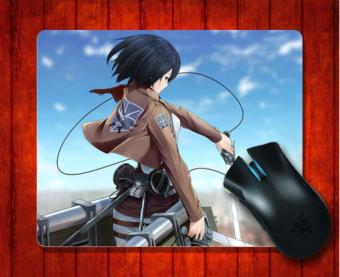 MousePad Mikasa Ackerman Attack On Titan95 Anime for Mouse mat240*200*3mm Gaming Mice Pad - intl Price Philippines