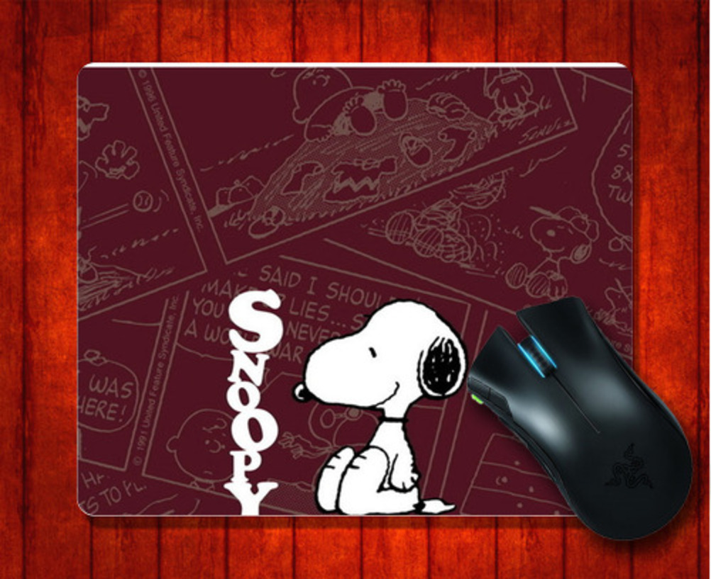 Flash Sale MousePad wan Snoopy for 240*200*3mm Mouse mat Gaming Mice Pad