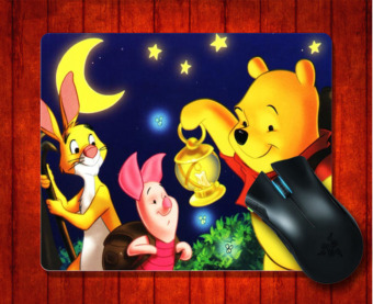 MousePad Winnie the Pooh for 240*200*3mm Mouse mat Gaming Mice Pad- intl