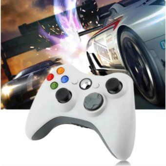 Mr.J Wired Usb Game Controller Gamepad Joypad Resemble Xbox 360 ForPc Computer #11B (White)
