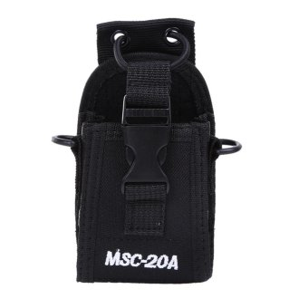 MSC-20A Holder Pouch Case for Motorola Kenwood Radio for BAOFENGUV82 - intl Price Philippines