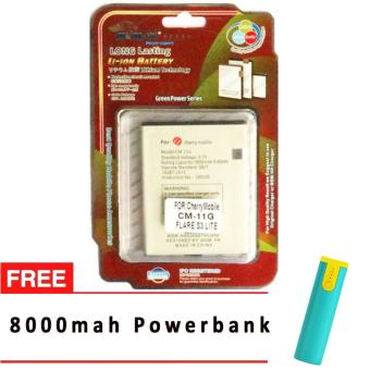 MSM HK Battery for Cherry Mobile CM-11G FLARE S3 LITE WITH 8,000MAH POWERBANK