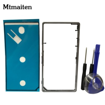 Mtmaiten Original Metal Middle Frame Bezel Housing Replacement for Sony Xperia Z1 L39h C6903 Middle Side Plate - intl