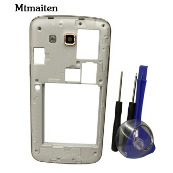 Mtmaiten Original New Full Housing case For Samsung Galaxy Grand 2Duos G7102 G7106 Replacement Parts Middle - intl