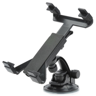 Multi-Directional Car Tablet Suction Cup Holder (Black)