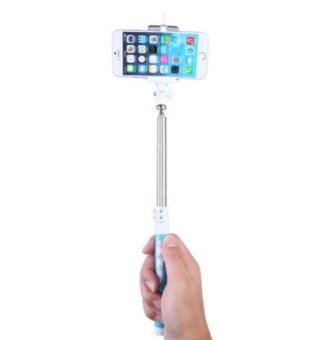 Multi-function Phone Photo Taking Wireless Bluetooth Monopod (Blue) - picture 2