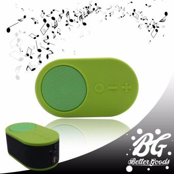 Music RK-912 Mini portable wireless bluetooth speaker (Green)