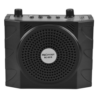 My Concept MC-001B Portable Amplifier Lapel with FM/USB/TF Port(Black)