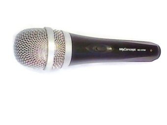 My Concept MC-019M Microphone with 5m Wire (Black)