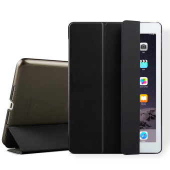 Mypro Young Series Ultra Slim Smart Cover with Auto Sleep/Wake Function for Apple iPad Mini 1/2/3 (Black)