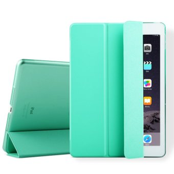 Mypro Young Series Ultra Slim Smart Cover with Auto Sleep/Wake Function for Apple iPad Mini 1/2/3 (Mint Green)