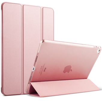 Mypro Young Series Ultra Slim Smart Cover with Auto Sleep/Wake Function for Apple iPad Mini 1/2/3 (Rose Gold)