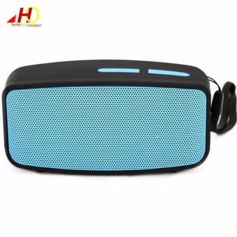 N10 Mini Wireless Bluetooth Speaker with FM Function (Blue)