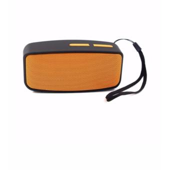 N10 Mini Wireless Bluetooth Speaker with FM Function (Orange)