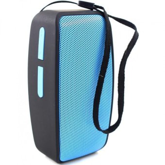 N10 U Mini Bluetooth Speaker with FM Function (Blue)