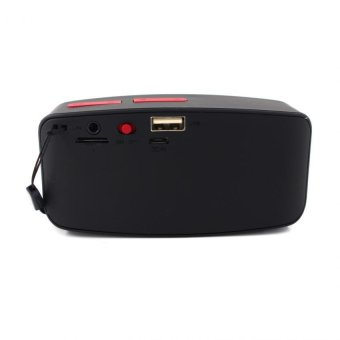 N10 U Mini Bluetooth Speaker with FM Function (Red) - 3