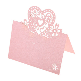 Name Cards Wedding Party Christmas Table Decor 12 Pcs Pink
