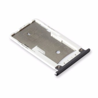 Nano SIM/ Micro SIM Card Tray Holder Micro SD Card Slot HolderAdapter Repair Spare Parts for Xiaomi Redmi Note 4 MTK - intl