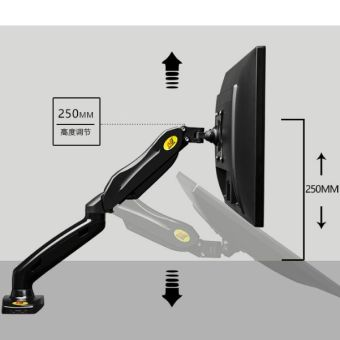 NB black gas strut LCD monitor and TV table bracket mount holder NBF80 for 17~27inch LCD or TV - intl - 5