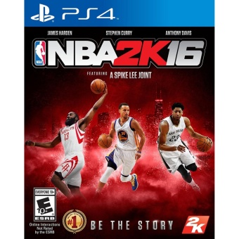 NBA 2K16 PS4 GAME (R3,R1) MINT CONDITION