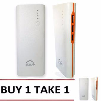 XZY 1032 20000mAh Smart Power Bank (White/Orange) BUY 1 TAKE1