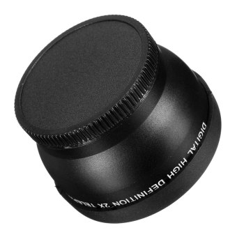 Neewer 52mm 2X Telephoto Lens for or Nikon D3100 D5200 D5100 D7100D90 D60 and Other DSLR Camera Lenses with 52MM Filter Thread - Intl - 5