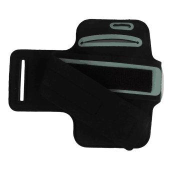 Neoprene Sports Gym Armband Cover For Samsung Galaxy S5 (Black) - 3