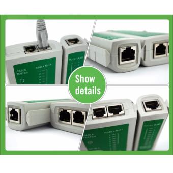 Network Cable Tester RJ45 RJ11 RJ12 CAT5 UTP LAN Networking Tool - 3