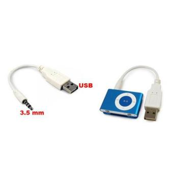 NEW 3.5mm USB Data Cable for PC iPod/MP3 shuffle W I