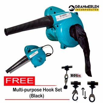 New Affordable Dual Porpose Electric Blower Hand Operated or Vacuumwith free Multi purpose hook set