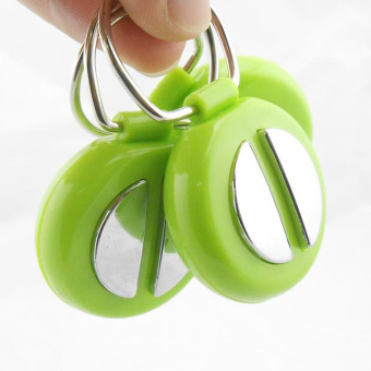 New April Fool's Day Safe Joking Harmless Electric Shock PeoplePatting Shaking Hands Fun Shocker Toys with Keychain Ring - 3