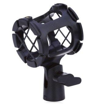 New C-1 Microphone Mic Suspension Shock Mount Clamp CondenserHolder Clip - intl - 4