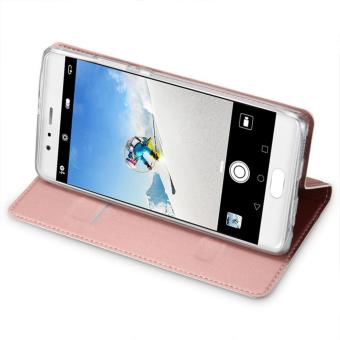 New Crashproof Flip Leather Magnet Phone Case for HUAWEI P10 PLUS - intl - 5