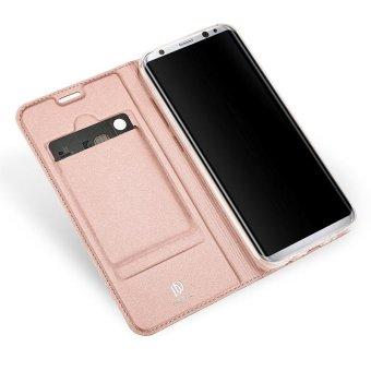 New Crashproof Flip Leather Magnet Phone Case for Samsung S8 - intl - 2