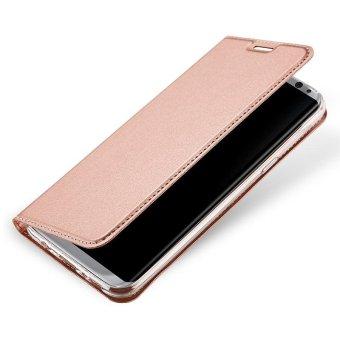 New Crashproof Flip Leather Magnet Phone Case for Samsung S8 Plus - intl - 3