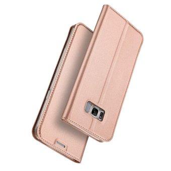 New Crashproof Flip Leather Magnet Phone Case for Samsung S8 Plus - intl - 5