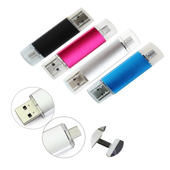 ... New Double Use Android OTG USB Flash Drive Pen DriveUSB 2.0 Pendrive Flash Drive Micro USB ...