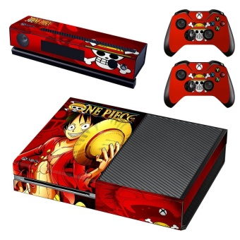 New one piece Decal Skin Sticker For Xbox one Console protectionfilm +2Pcs Controller skin - intl