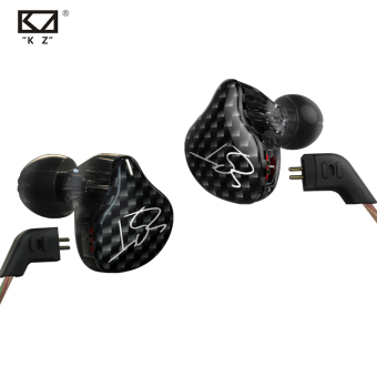 New Original KZ ZST 3.5mm In Ear Earphones 1DD With 1BA Hybrid Earphone With MIC HIFI Auriculares Running Sport Earphones Monitor Earbuds Without Mic - intl