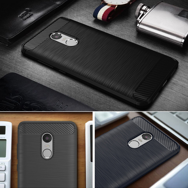 New Phone Cover Case for XIAOMI REDMI NOTE 4 (Black) - intl .