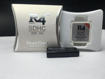 NEW R4 SDHC Dual-Core R4i NINTENDO GAME DS DSI 2DS 3DS & ALL DSCONSOLES