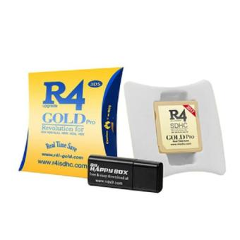 NEW R4 SDHC Gold Pro R4i NINTENDO GAME DS DSI 2DS 3DS & ALL DS CONSOLES