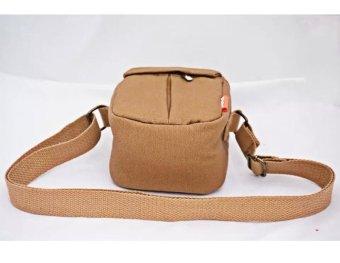 New Shockproof Camera Shoulder Strap Canvas Bag Case Cover forCanon EOS M10 M2 M3 Camera - intl - 3