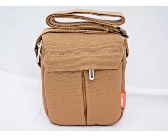 New Shockproof Camera Shoulder Strap Canvas Bag Case Cover forCanon EOS M10 M2 M3 Camera - intl