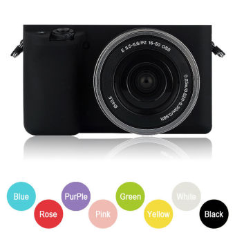 New Soft Silicone Camera Case bag cover Skin for Sony A6000ILCE-6000L 16-50mm