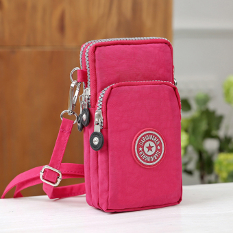 New style soft female purse mobile phone bag shoulder bag